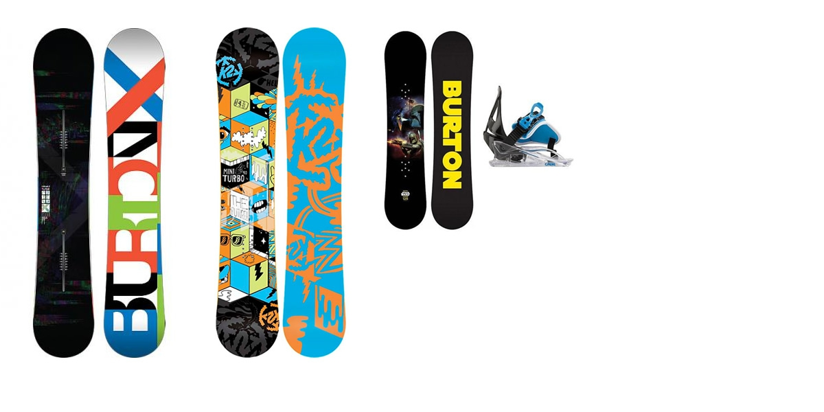 Rent snowboards & boots